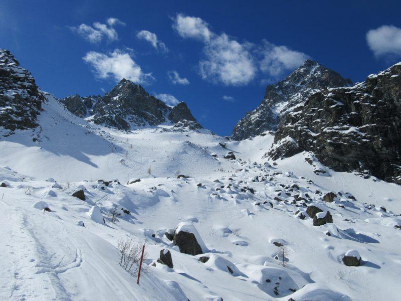 Monte Granè da Pian della Regina  - Monviso e Viso Mozzo
