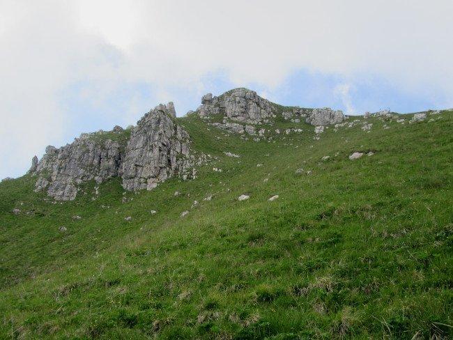 Monte due Mani speroni rocciosi