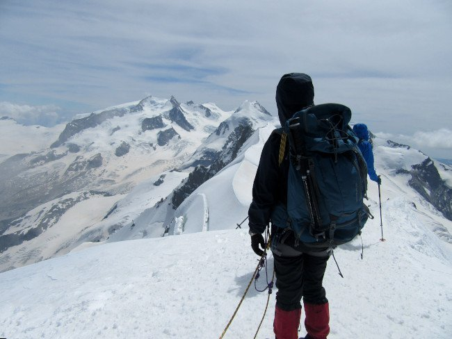 Vetta del Breithorn Occidentale
