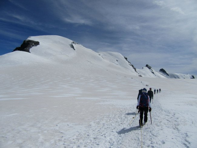 Breithorn Occidentale ascensione