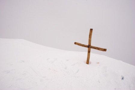 Croce di vetta Pala Rusà