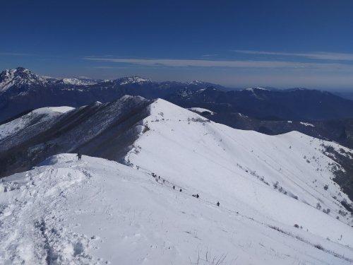 Dorsale monte San Primo