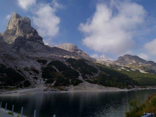 Marmolada e Lago di Fedaia