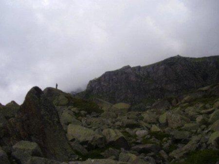 Escursionismo in montagna
