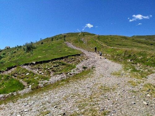 Escursione alla Punta dell'Aquila