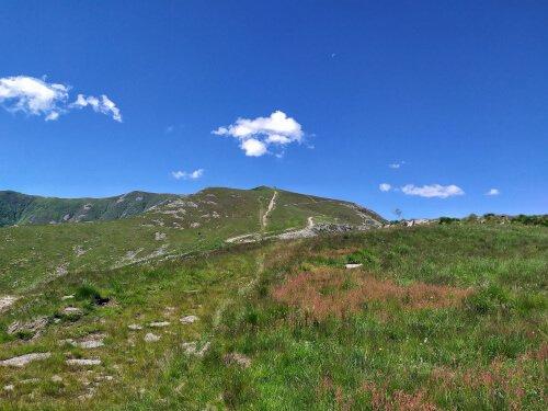 Vecchi impianti sciistici Alpe Colombino
