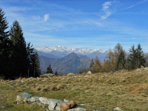 Vista sulla valle di Viù