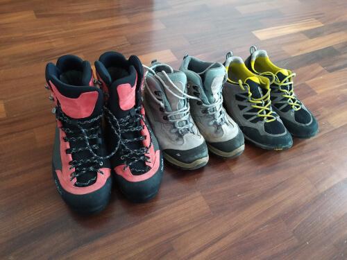 tipi di scarponi da montagna
