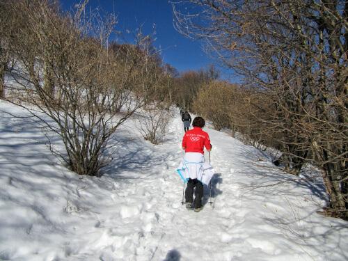 Escursione invernale Monte Palanzone
